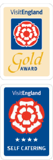 Woodside Barn has a Gold and 4 Star Self Catering Award